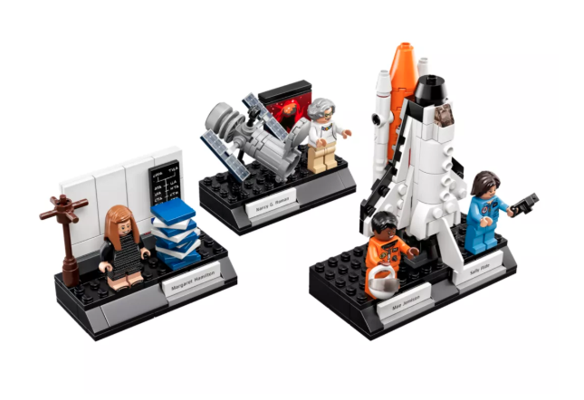 Women of NASA Lego Kit.