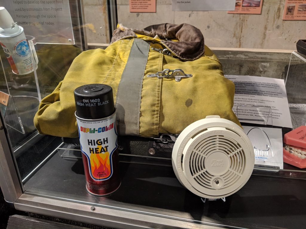Heat repellent paint is a spinoff from NASA that has helped protect firefighters in their daily jobs.