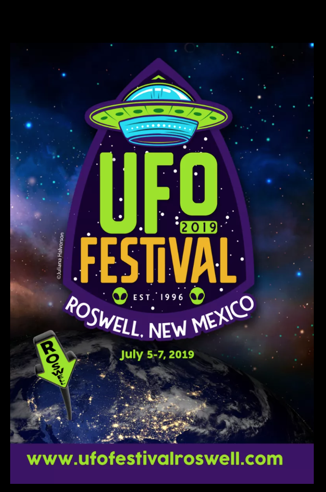 The UFO Festival takes place in Roswell, New Mexico over Independence Day weekend to commemorate the aliens landing there in 1947.