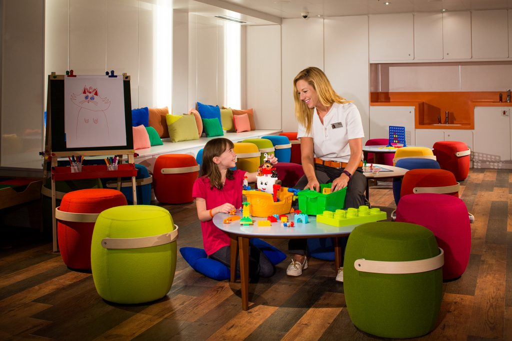 HAL Koningsdam kids club room