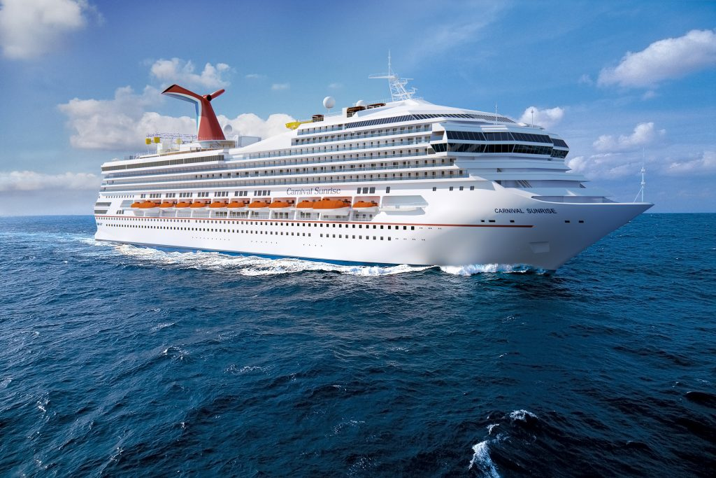 Rendering of the Carnival Sunrise