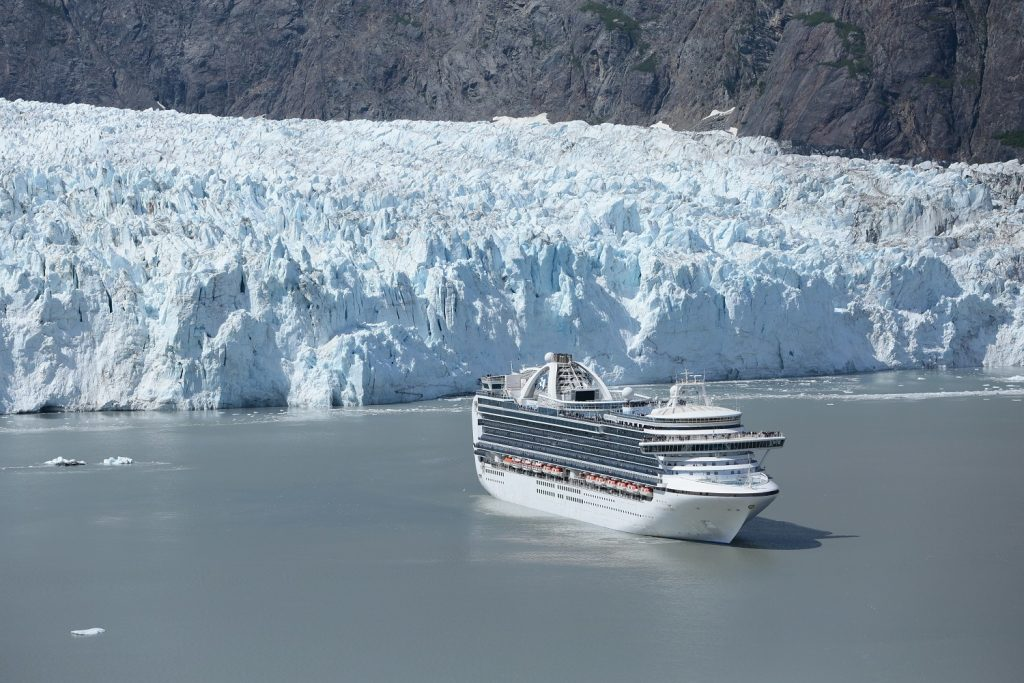 Princess Cruises in Glacier Bay National Park