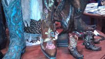 Women's and children's cowboy boots