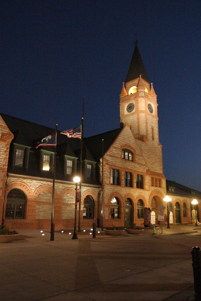 Cheyenne's old Western Depot