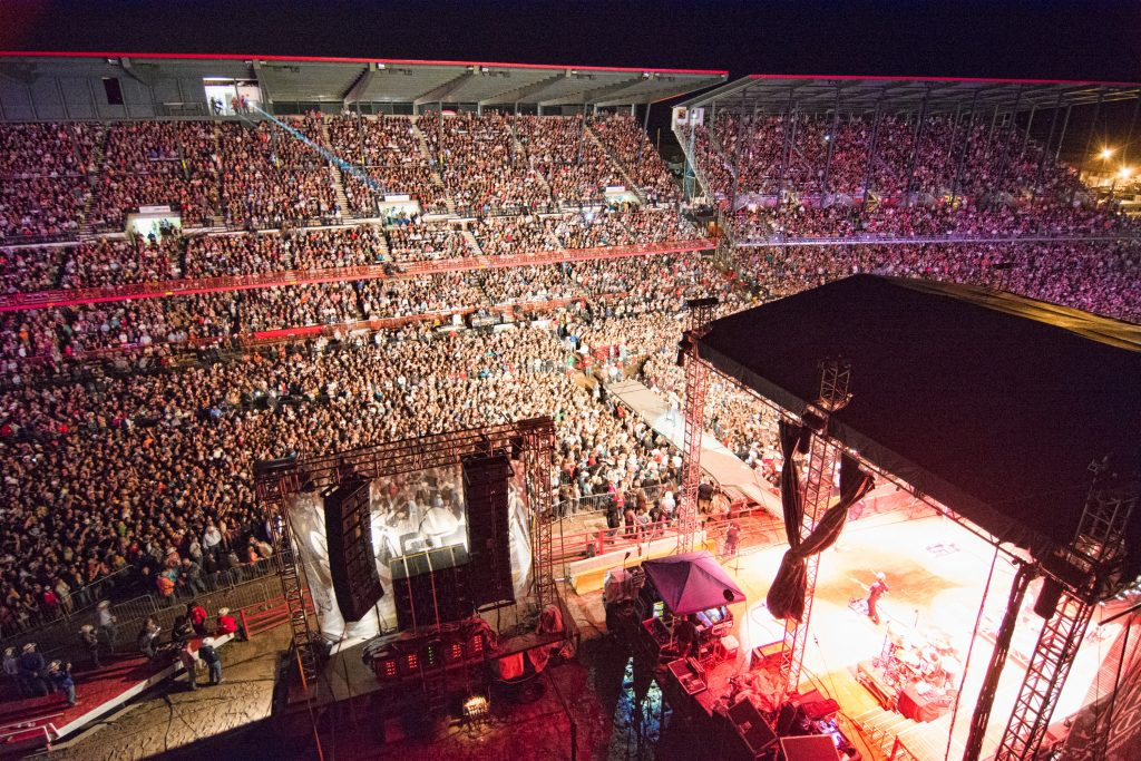 Frontier Nights puts on huge CW star concerts.