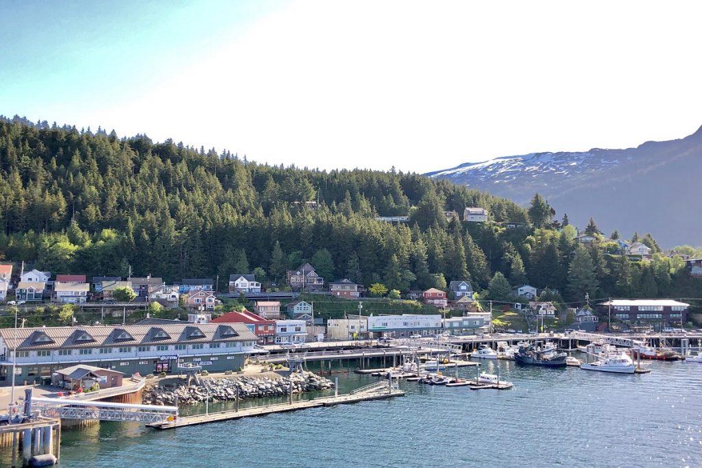 Alaska port on a quiet day.