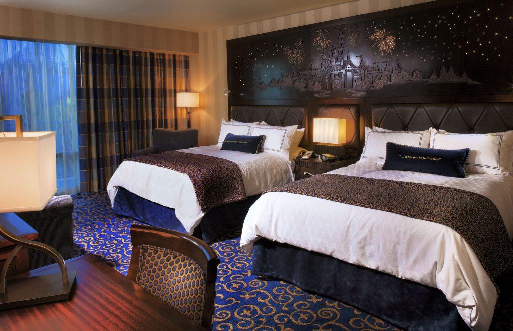 Disneyland Hotel guest room.