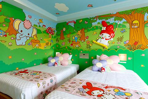 My Melody guestroom