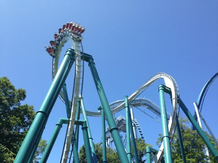 Alpengeist coaster at Busch Gardens Williamsburg.