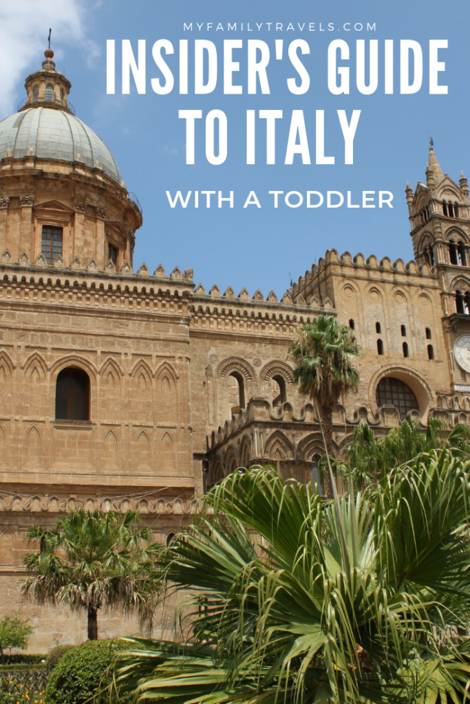 Italy is a magical family destination Pin.