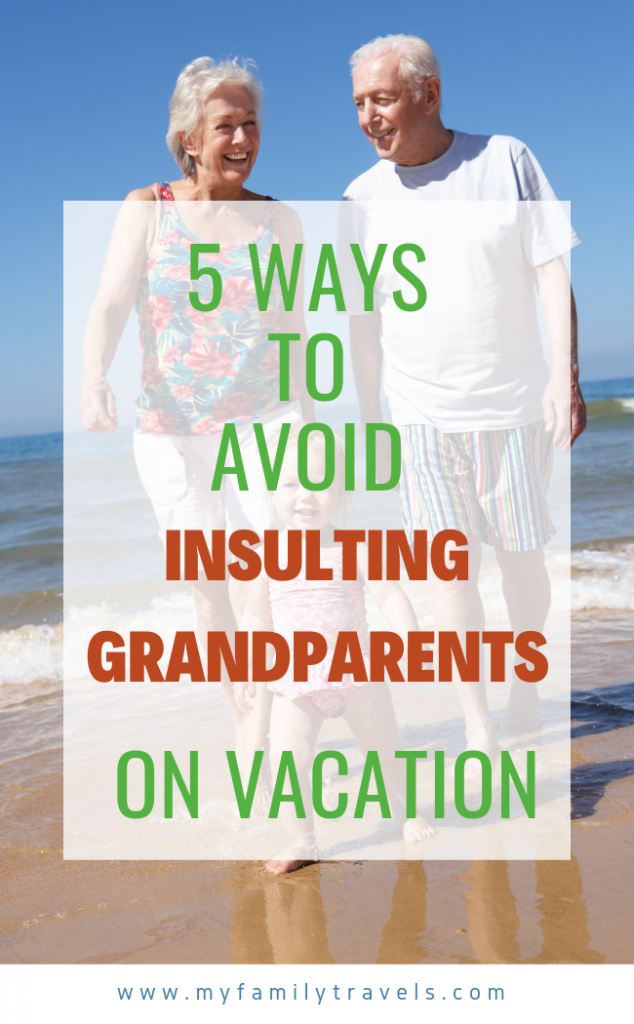 Multigenerational travel tips Pin.