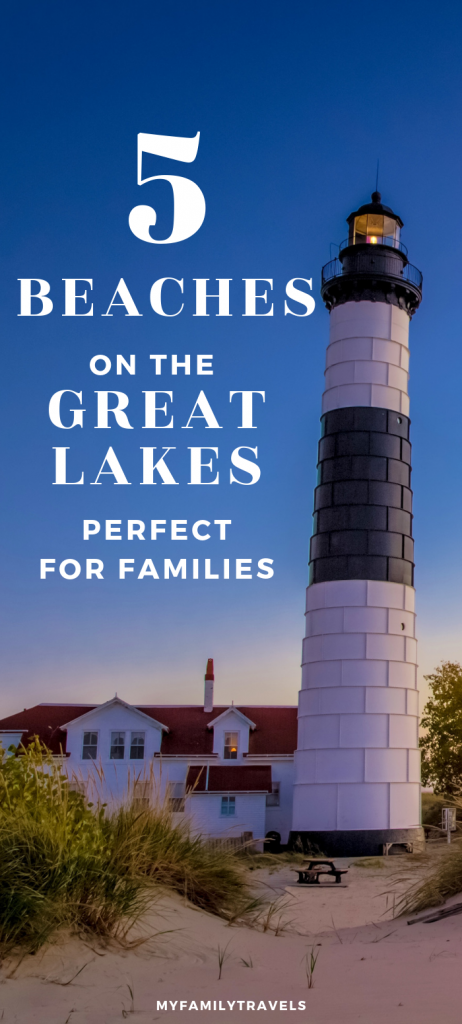 Top 5 Great Lakes beaches Pin