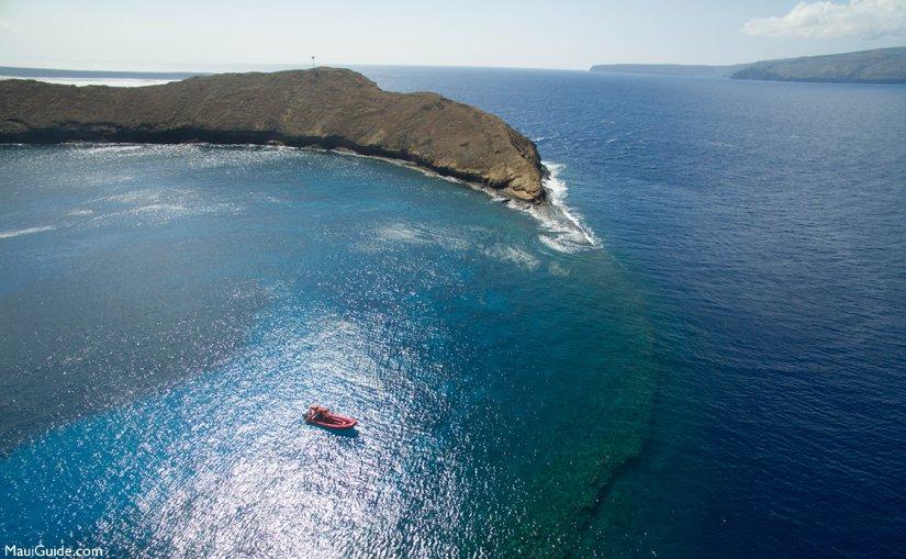Molokini Rafting adventure.