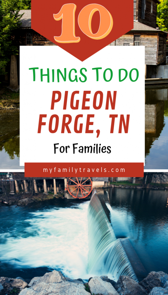 Love Pigeon Forge Pin