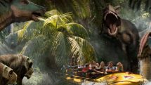 Jurassic Ride at Universal Studios Hollywood
