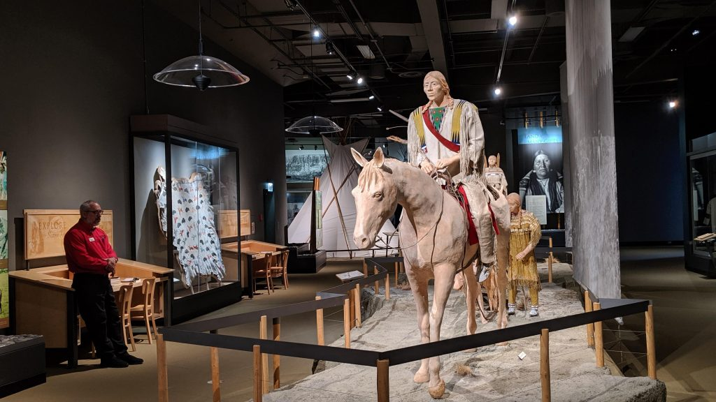 The Native American galleries at the Buffalo Bill Center of the West are especially fascinating.