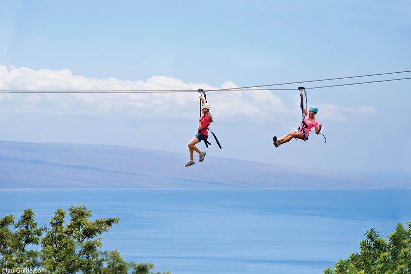 A Zipline West adventure.