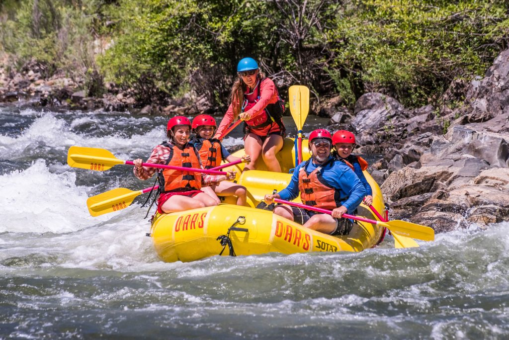South Fork of the American River river rafting adventure