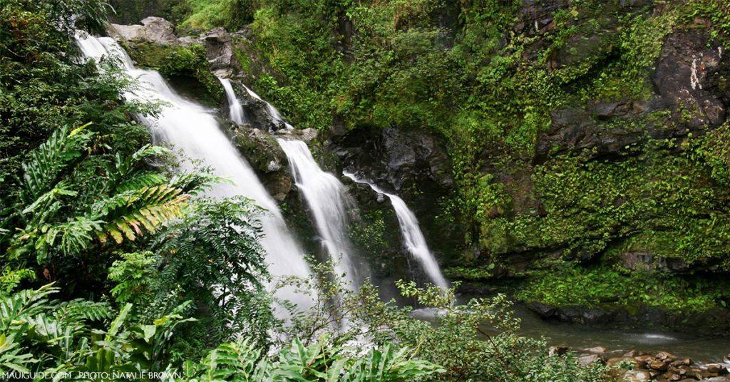 Maui's beauitful waterfalls.
