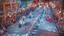 Snowflake Lane at the Bellevue Collection, Bellevue, Washington