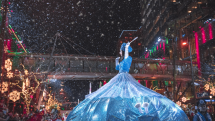 Blue Princess at Snowflake Lane