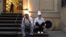 Chefs taking a break