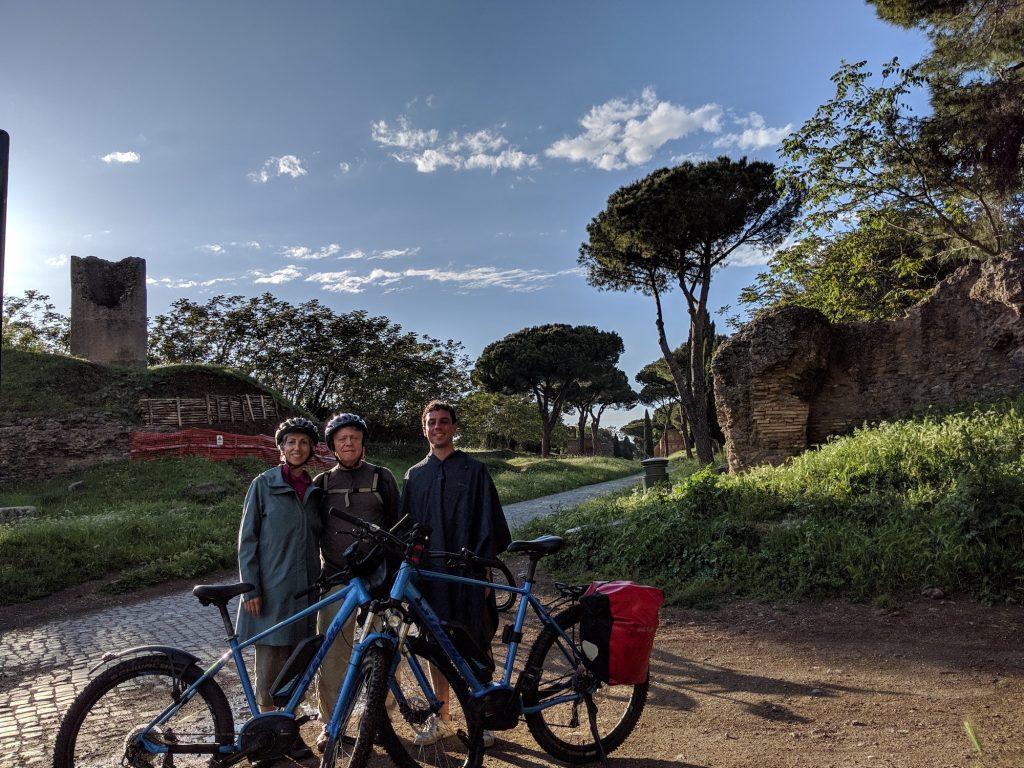 TopBike Tour on Appian Way.