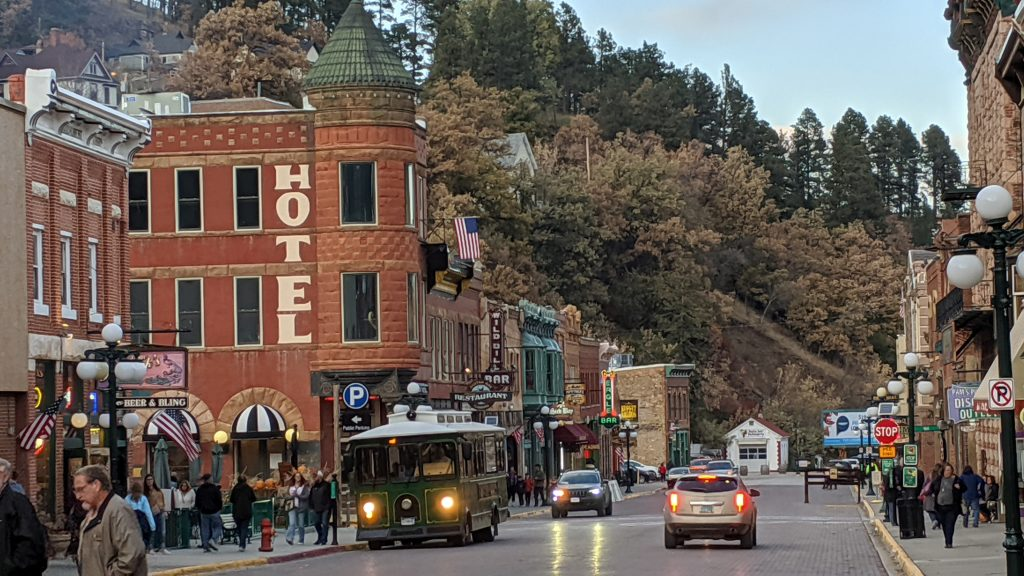 Main Street of Deadwood