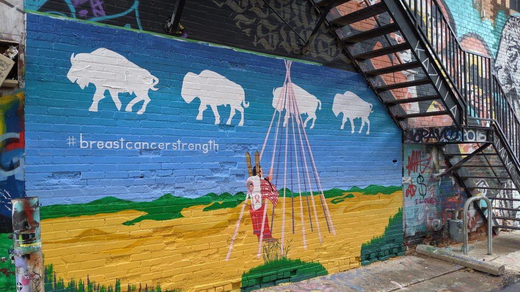 Art Alley mural