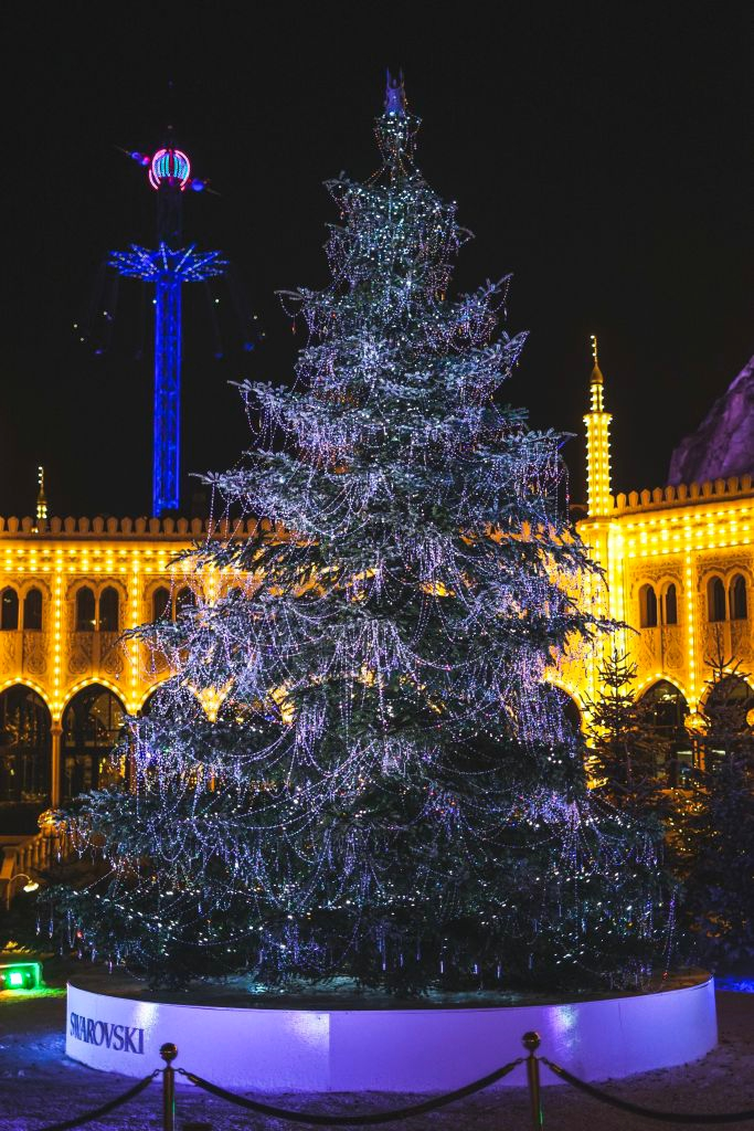 Christmas tree at Tivoli Gardens, Copenhagen