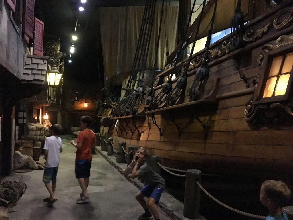 Ahoy matey! Who goes there at the Pirates Museum of Nassau.