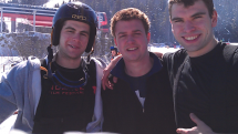 Elliot, Regan and Zander at Sunday River.