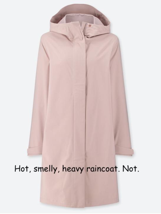 Uniqlo Women's Blocktech Raincoat