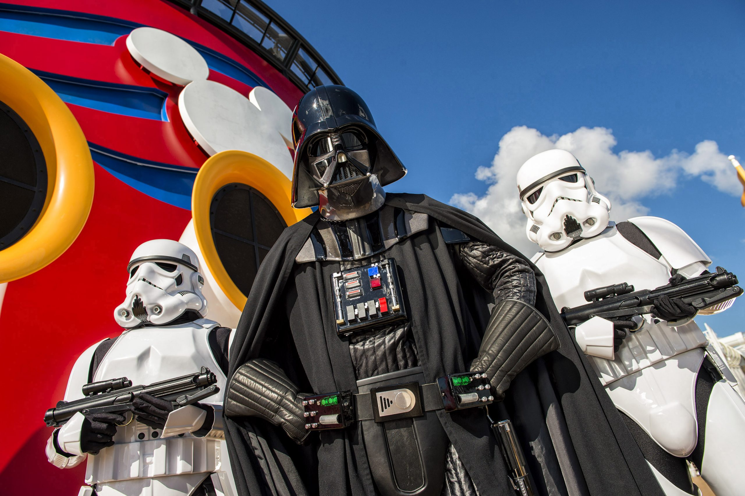Stormtroopers aboard Disney Cruise Line ship