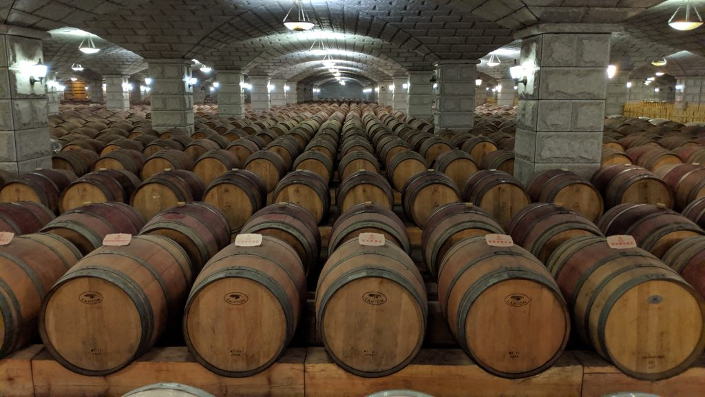 Zixuan Winery claims to have the largest wine cellar in all of Asia.