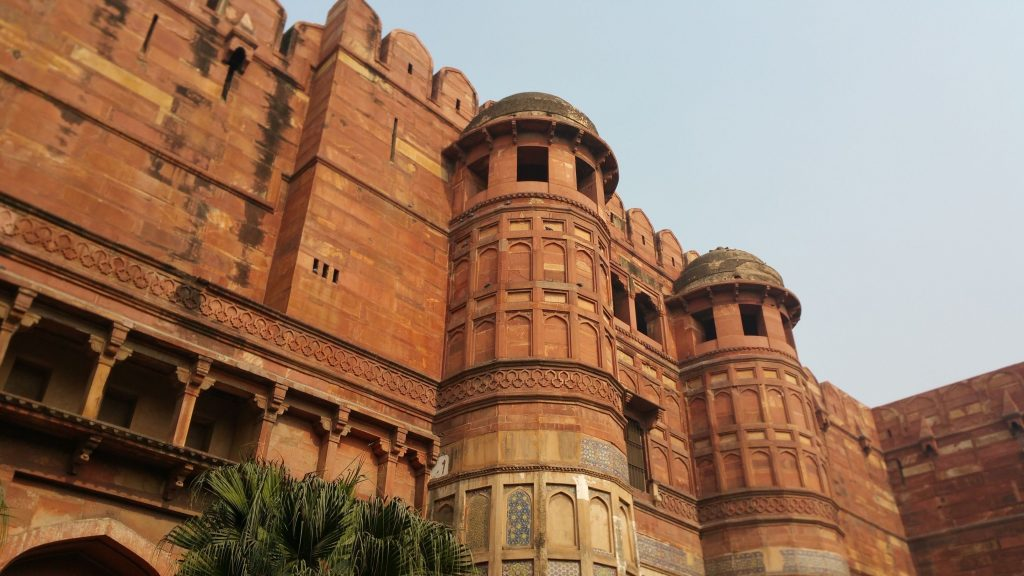Red Fort of Akbar in Agra