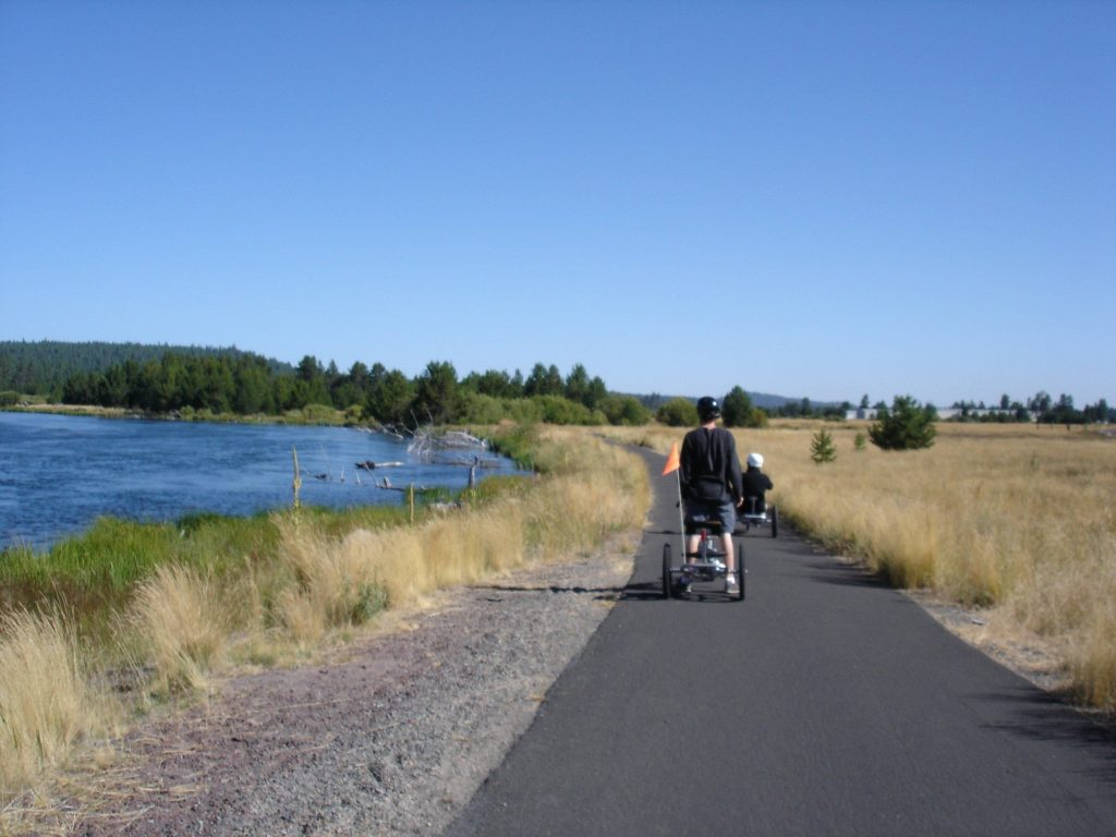 Biek path at Sunriver Resort