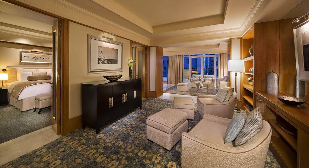 Ambassador Suite at the Ritz Carlton DIFC in Dubai UAE