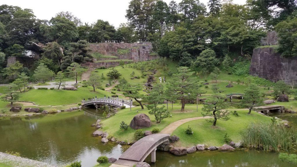 Kenroku-en Gardens in Kanazawa