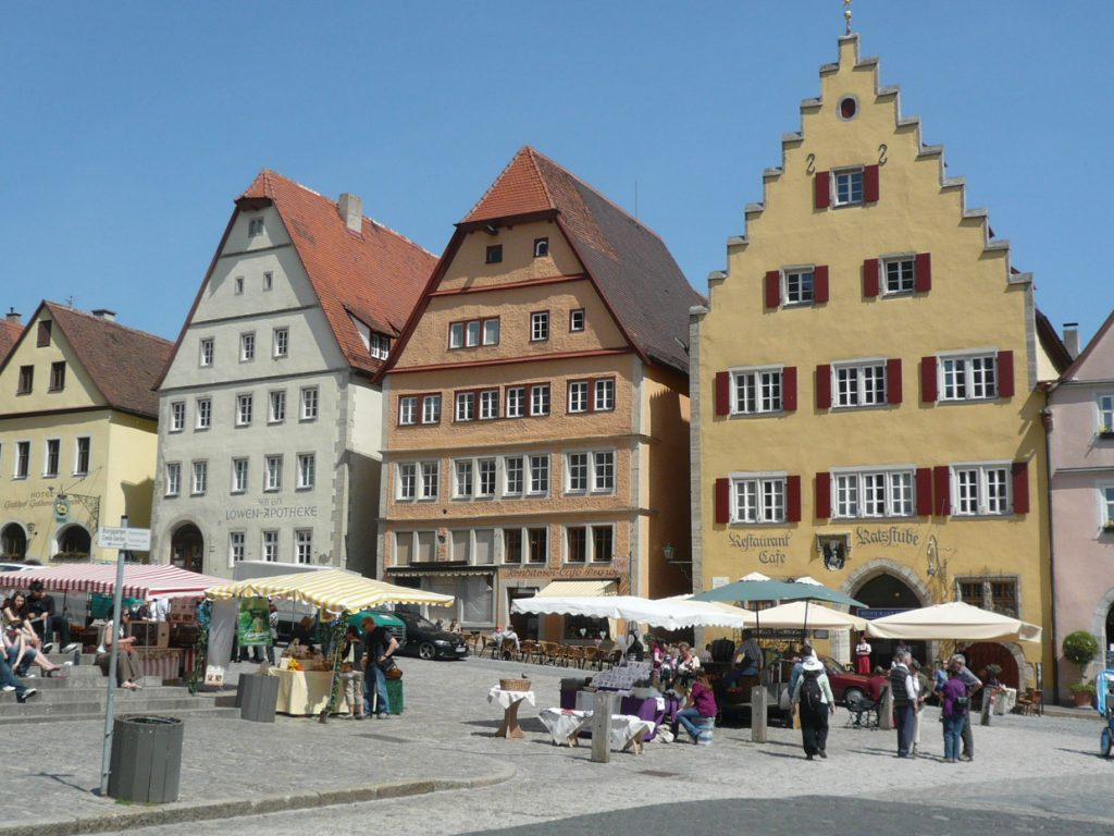 Rothenburg main square