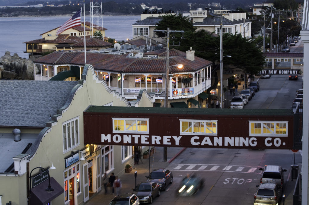 Cannery Row in Monterey California