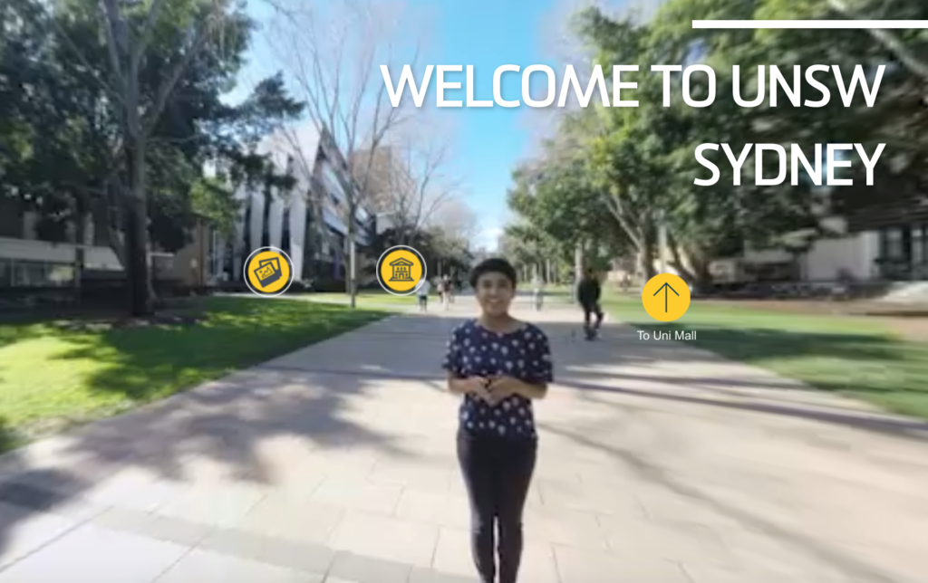 Virtual tour of University of New South Wales