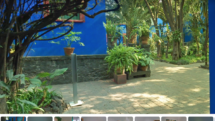 Google Arts virtual tour of Frida Kahlo Casa Azul