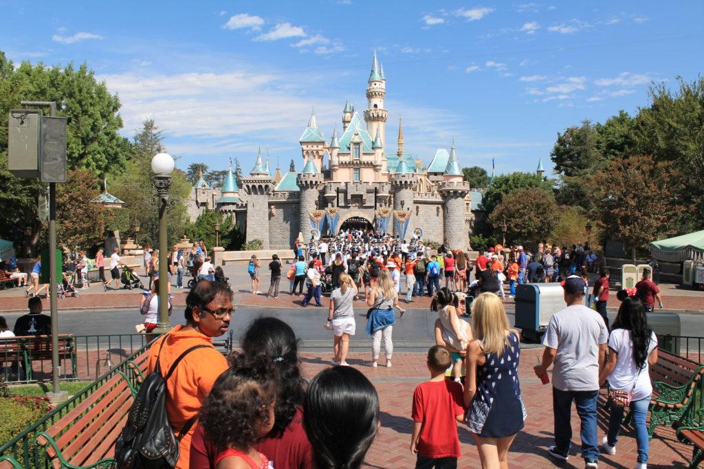 Magic Kingdom at Disneyland.