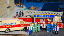 Legoland California Miniland Thanks First Responders to COVID