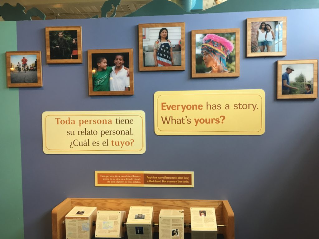 Spanish and English exhibit at Providence Children's Museum