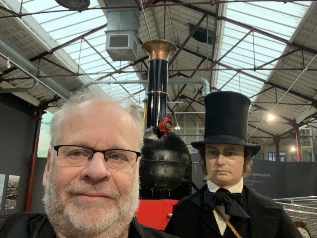 Ralph Spielman at the Great Western Railway Museum in Swindon, UK