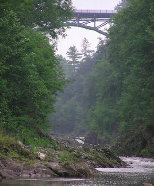 Queechee Gorge in Vermont