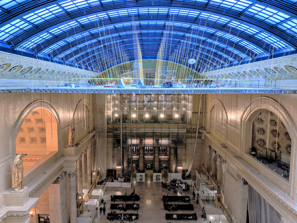 Chicago's historic Union Station is being renovated by Amtrak.