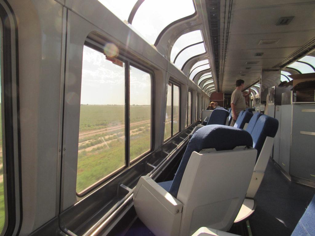 Amtrak Sightseer Lounge Car